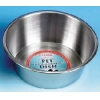 Classic Stainless Steel Dish 9.75""