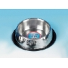 Classic Non-tip Stainless Steel Dish 9""