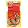 Rabbit Adjustable Harness & Lead Set Red