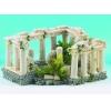 """Classic Roman Square Columns 9"""" Fish Tank Ornament"""