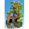 "Classic Cobbled Chimney 7.5"" Fish Tank Ornament"