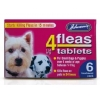 Johnsons 4 Fleas Puppy Flea 6 Tablets