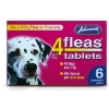 Johnsons 4 Fleas Dog Flea 6 Tablets