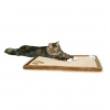 Trixie Scratching Mat, Plush, 55×35 Cm, Brown