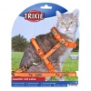 Trixie Cat Set With Lead, Nylon, With Motif Strap