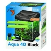 Superfish Aqua 40 Fish Tank Black