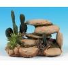 """Classic White Stone/cactus 6"""""""