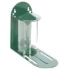 Squirrel Feeder Green Metal