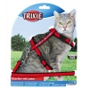 Trixie Cat Harness And Lead Set Embroidered