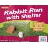 "Wire Rabbit Run With Shelter 120x100x50cm (47x39x20"")"