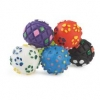 Small Bite Vinyl Ball Assorted 4.5cm 6pk