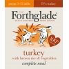 Forthglade Puppy Turkey With Brown Rice & Veg 395g