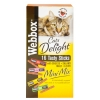Webbox Cats Delight Mini Mix Treats Salami Cheese Liver & Malt 32g
