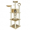 Trixie Cat Tree 'montilla', 212 Cm, Beige (our Best Selling Large Cat Post)
