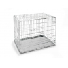 "Dabners 42"" Zinc Plated Dog Crate"