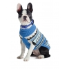 Muddy Paws Alpine Sweater Blue Mix Extra Extra Small