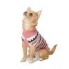 Muddy Paws Alpine Sweater Pink Mix Extra Extra Small