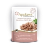 Applaws Cat Pouch Tuna Wholemeat With Salmon In Jelly 16x70g