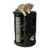 Trixie Cat Tower With Post For Cats, ø 41 X 58 Cm, Black With Striped Post