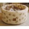 Danish 50cm - Medium Cat Cosy Cream Fleece