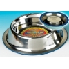 "Classic Non Tip/slip 10.5"" Stainless Steel Bowl"