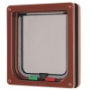 Cat Mate 4-way Locking Cat Flap Brown