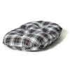 "Lumberjack White/navy Quilted Mattress 89cm (35"")"