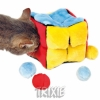 Trixie Plush Cube, With 4 Plush Balls, 14 Cm