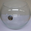 Glass Fish Bowl French Plain 300mm