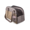 Ancol Pet Carry Bag & Treat Pouch Stone