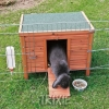 Trixie 'natura' Outdoor House For Rabbits, 42×43×51 Cm
