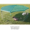 Trixie Enclosure With Net For Rodents, 8 Panels, 80×75 Cm