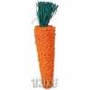Straw Carrot For Rabbits And Small Rodents, 20 Cm