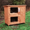 Trixie Two Storied Rabbit Hutch Cover - 109x97x58cm