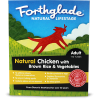 Forthglade Natural Lifestage Chicken With Brown Rice & Vegetables 18x395g