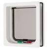 Cat Mate 4-way Locking + Liner Cat Flap White