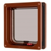 Cat Mate Lockable + Liner Cat Flap Brown