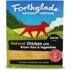 Forthglade Natural Lifestage Senior Chicken With Brown Rice & Vegetables 18x395g