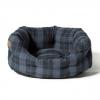 """Lumberjack Navy/grey Slumber Bed 89cm (35"""")"""