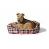 "Lumberjack Red/grey Slumber Bed 101cm (40"")"