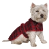 Muddy Paws Highland Tartan Coat Red Extra Large