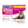 Johnsons 4  Fleas Cat Flea Tablets