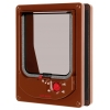 Cat Mate Electromagnetic Cat Flap Brown