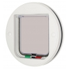 Cat Mate Glass Fitting Cat Flap White