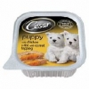 Cesar Tray Puppy With Chicken & Rice Topped With Carrot 12x100g (case Rate)