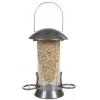 Adventurer Metal Seed Feeder Gunmetal 2 Port Small