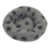 Danish Design Sherpa Fleece Grey Cushion Bed 20""