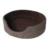 Gor Dog Bed Brown Suede 24""