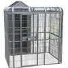 Rainforest Parrot Aviary With House Antique Cage
