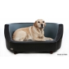 Chester & Wells Oxford I Black Dog Bed Medium